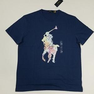 Polo Ralph Lauren Abstract Big Pony Tee